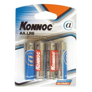 ΜΠΑΤΑΡΙΑ KONNOC LR6/AA ALK-06