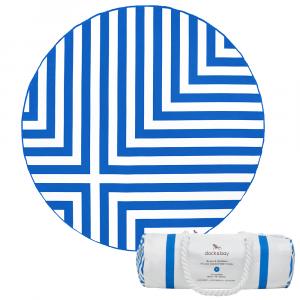 ΠΕΤΣΕΤΑ MICROFIBER DOCK & BAY ROUND Φ190cm BLUE CROSS