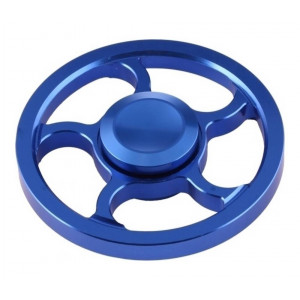 Fidget Spinner Aluminum Wind Wheel Alloy Blue 3 min 21898