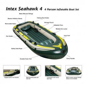 Seahawk 4 SET (με κουπια & τρομπα)
